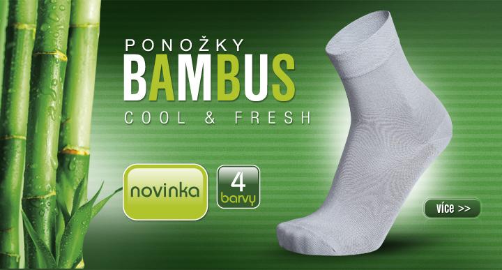 ponožky bambus cz